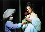 """""""Fantasio"""": Szene aus der Aufführung in Rennes 2000/Foto Galbrun/Boosey & Hawks"""