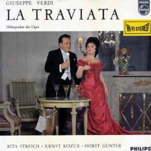 """Rita Streich und Ernst Kozub in """"La Traviata"""". Als Violetta ist sie auch in der Edition zu hören"""