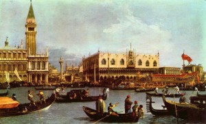Vivaldis Venedig: Canalettos Blick auf den Markusplatz/OBA