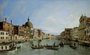 Vivaldis Venedig: Canalettos Blick auf den Canal´ Grande/OBA