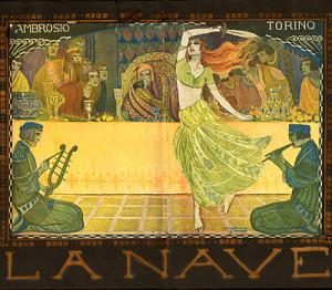 """La Nave"": Entwurf von Riccobaldi, 1921/GRattacielo"