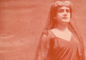 Jeanne Hatto als Reyers Brunehilde im Sigurd/OBA