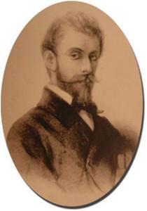 Ernest Reyer um 1870/Wiki