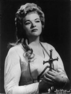 "Ina Delcampo: ""Tannhäuser""-Elisabeth an der Met/Melancon/Met-Archives/privat"