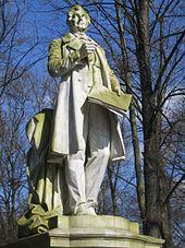 Standbild Lortzings von Gustav Eberlein im Tiergarten Berlin/Wiki