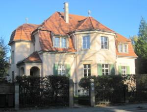 Die letzte elegante Adresse in der heutigen Goethealle 61 in Dresden