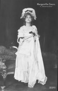 Margarethe Siems als Marschallin