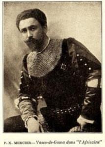 François-Xavier Mercier als Vasco de Gama/OBA