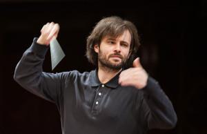 Lukasz Borowicz/Koncert Polskiej Orkiestry Radiowej (próba) lutoslawski.org.pl