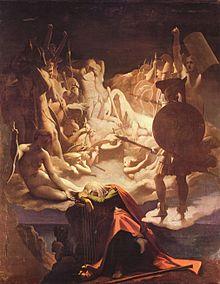 """Méhul: """"Ossian"""" - Gemälde von Jean-Auguste Dominic Ingres/OBA"""