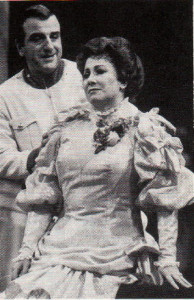 """Griselidis"" in Strasbourg 1986/ René Massis und Hélène Garetti/Foto Kaiser"