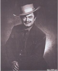 Sándor Kónya als Dick Johnson/Met Opera Archive/Mélancon/Foto Denker