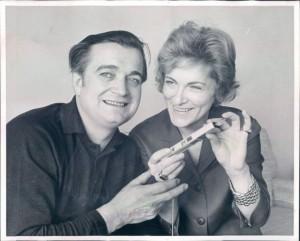Sándor Kónya und Ehefrau Anneliese/Foto Denker