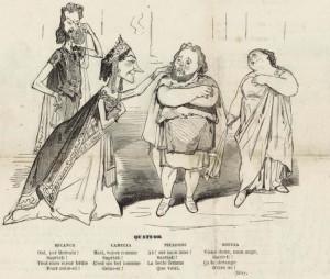 """Herculanum"": Karikatur aus der Gazette de Paris/Gallia/Wiki"