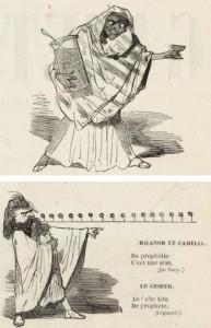 """Herculanum"": noch einmal zwei karikaturen zur Oper aus der gazette de Paris/Gallia/Wiki"