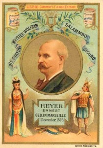 Ernest Reyer ist in einer Serie über französische Komponisten dargestellt