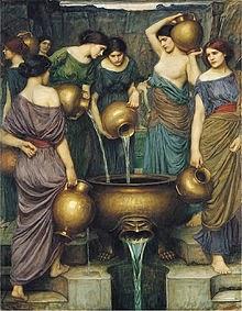 The Danaides/John William Waterhouse/Wiki