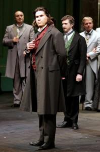 """Massimo Cavaletti: Enrico in """"Lucia di Lammermoor"""" an der Mailänder Scala 2014 / Foto Brescia/Amisano©Teatro alla Scala"""