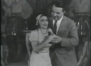 """Verboten: Irene Isinger (hier mit Michael Bohnen"""" in """"Der Fürst der Berge"""" 1932/youtube"""