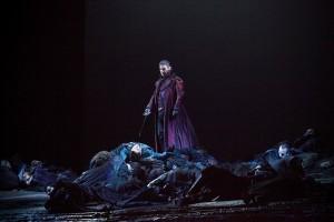 """Massimo Cavalletti: Riccardo in """"I puritani"""" in Florenz 2015/ Generalprobe/Foto  Pietro Paolini / Terraproject Contrasto"""