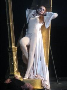 "Magdalena Anna Hofmann als Venus in Wagners ""Tannhäuser""/Foto Hofmann"