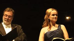 Maria Magdalena Hoifmann als Sieglinde neben Thomas Moser/ Foto youtube