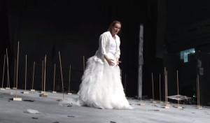 "Maria Magdalena Hoifmann als Carlotta in Schrekers ""Gezeichneten"" in Lyon/Foto youtube"