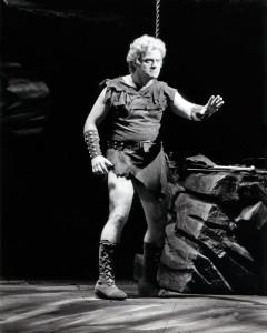 Manfred Jung: als Siegfried an der Met/Foto Met Opera Archive/Jung HP