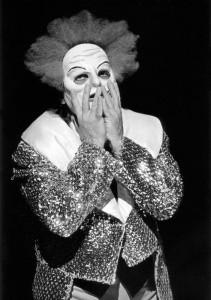 Manfred Jung als Canio in Gelsenkirchen 1976/Krämer/Foto privat/Jung