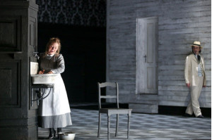 """La gazza ladra"" an der Oper Frankfurt und nun bei Oehms Classics: Sophie Bevan (Ninetta), Federico Sacchi (Fabrizio Vingradito) © Wolfgang Runkel"