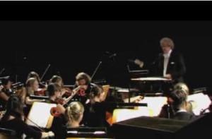 """Manfred Jung: der Orchesterdirigent (""""Siegfried-Idyll"""")/Foto Videoclip/Jung"""