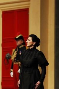 """Karine Babajanyan als Rachel/ """"La Juive"""" am Opernhaus Zürich 2011/ Foto: Suzanne Schwiertz"""