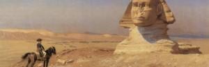 Jean-Léon Lerôme: Napoleon in Ägypten/ Wiki