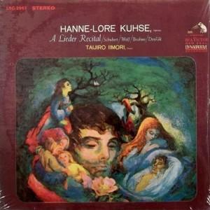Diese RCA-LP mit einem klassischen Liederprogramm ist in New York produziert worden und nur noch antiquarisch erhältlich.