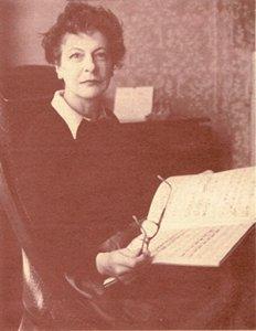 Die Komponistin Phyllis Tate/ Wiki