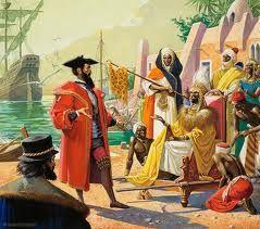 Vasco da Gama/ Gemälde von Bernard Dewagtere/ Wiki