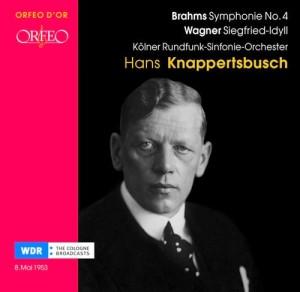 Brahms und Wagner, produziert 1953 beim WDR: Eines der zahlreichen Knappertsbusch-Alben von Orfeo (C 723 071 B)