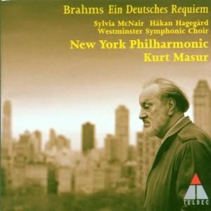 CD Masur Brahms-Requiem