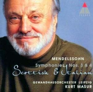 CD Masur Mendelssohn