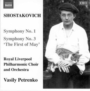 1-CD Schostakowitsch Naxos mit Katze