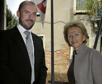 Palazzo Bru Zane: Alexandre Dratwicki und Nicole Bru/ PBZ