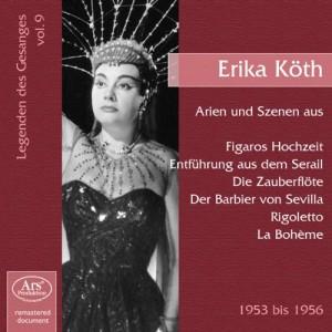 Als Königin der Nacht bei den Salzburger Festspielen 1960 auf dem Cover einer Arien-CD von Ars