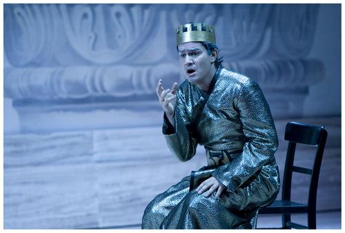 """Saimir Pirgu/ """"Idomeneo,""""/ Zürich Opernhaus/ Foto Suzanne Schwiertz"""