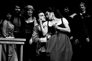 Maurice Maiewski als Don José mit Victoria Vergara/ Carmen in Seattle 1982/ Steattle Opera/ Foto Chris Bennion