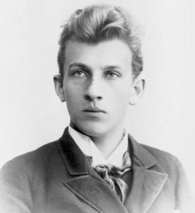 Der junge Hans Pfitzner/Manskopf (s. unten)