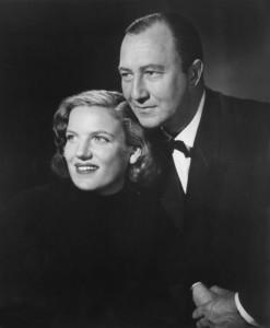 Inge Borkh mit Ehemann und Bariton Alexander Welitsch 1953/ Foto Borkh