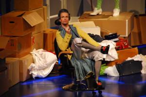 """Peter Schöne als Conte Almaviva in Monzarts """"Nozze di Figaro"""" Erfurt/ Foto Lutz Habermann/ Theater Erfurt"""