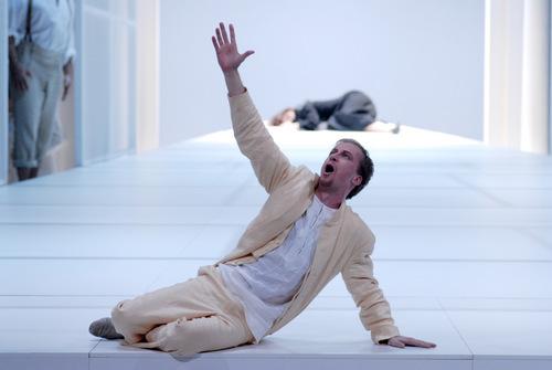 Peter Schöne als Monteverdis Orfeo in Erfurt/ Foto Lutz Habermann/ Theater Erfurt