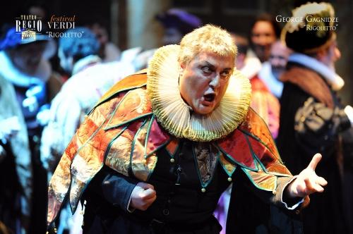 George Ganidze: Rigoletto in Parma/ Foto Roberto Ricci