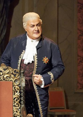 George Ganidze: Scarpia an der Wiener Staatsoper/ Foto Michael Pöhn